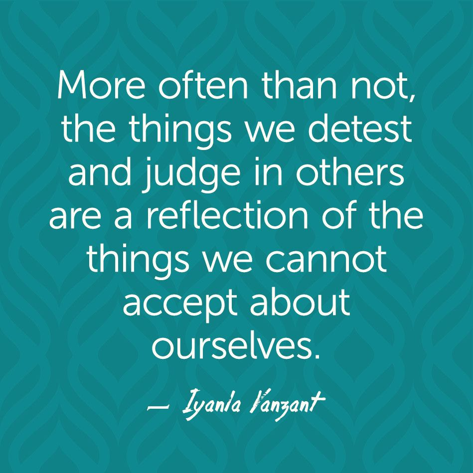 Reflection Quotes About Life: Iyanla Vanzant Quotes - Reflection