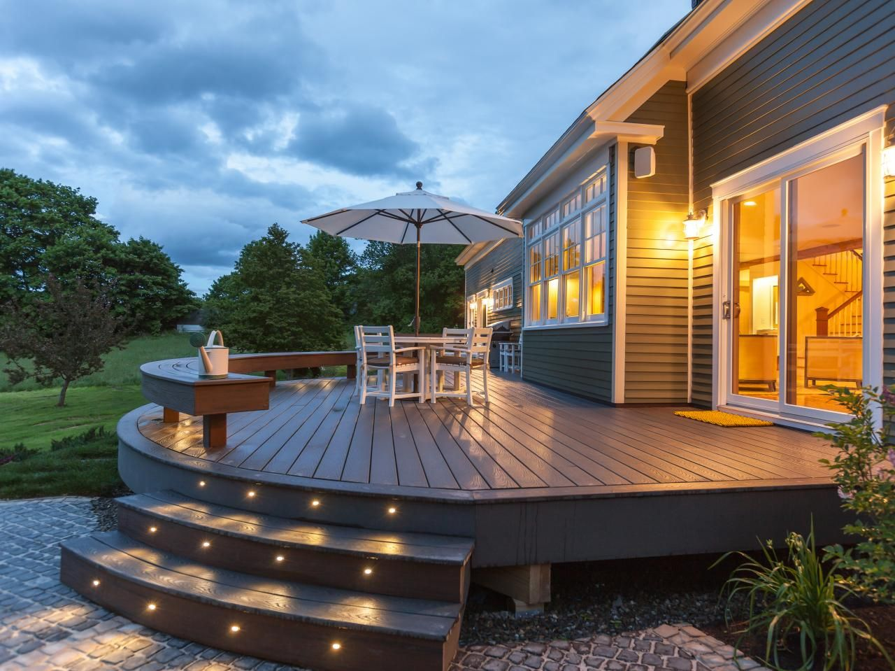 deck stair lighting ideas. 7 Stylish Deck Features | Outdoor Design - Landscaping Ideas, Porches, Decks, \u0026 · Stair LightingLighting Lighting Ideas A
