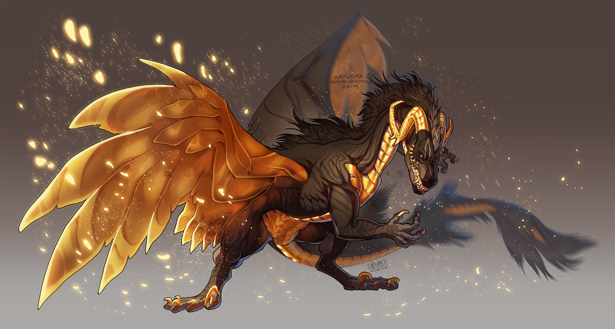Cute lil dragon   Northern lights tattoo, Art, Dragon dreaming