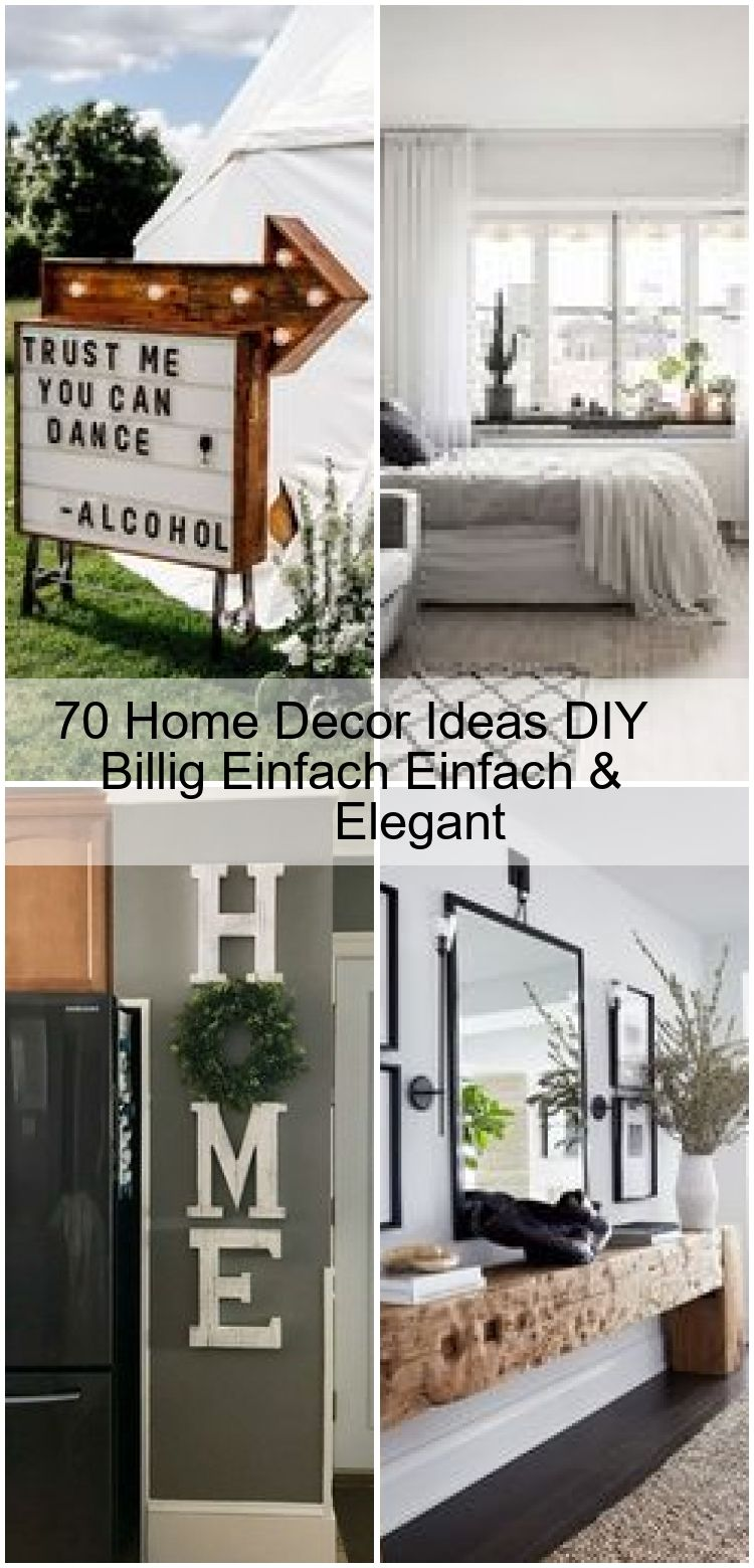 20 Home Decor Ideas DIY Billig Einfach Einfach & Elegant, #billig