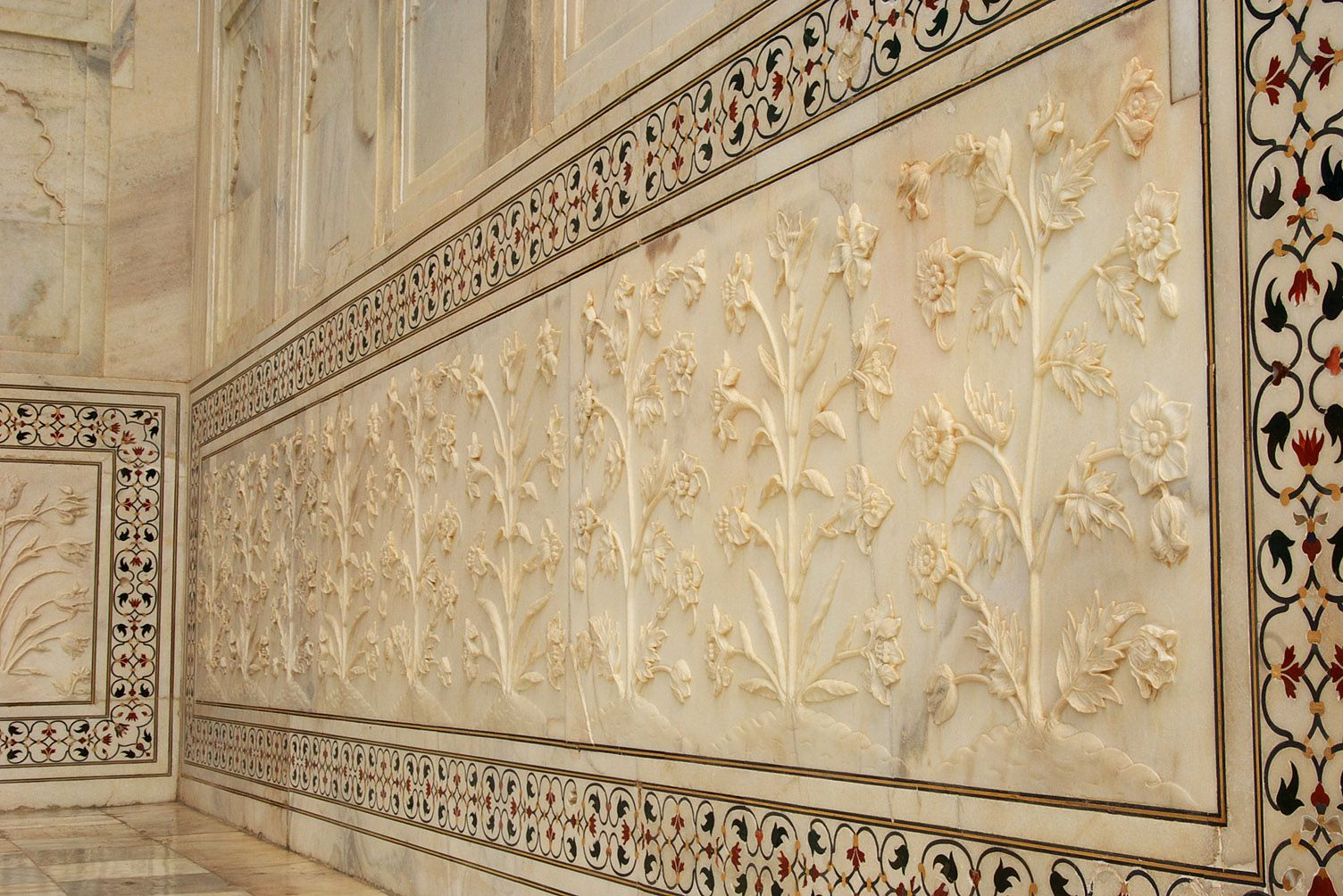 Pix For Taj Mahal Interior WONDERS OF THE WORLD Pinterest