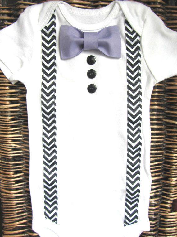 95bf70534 Baby Boy Clothes - Bow Tie Onesie - Baby Tuxedo Onesie - Boy Coming ...