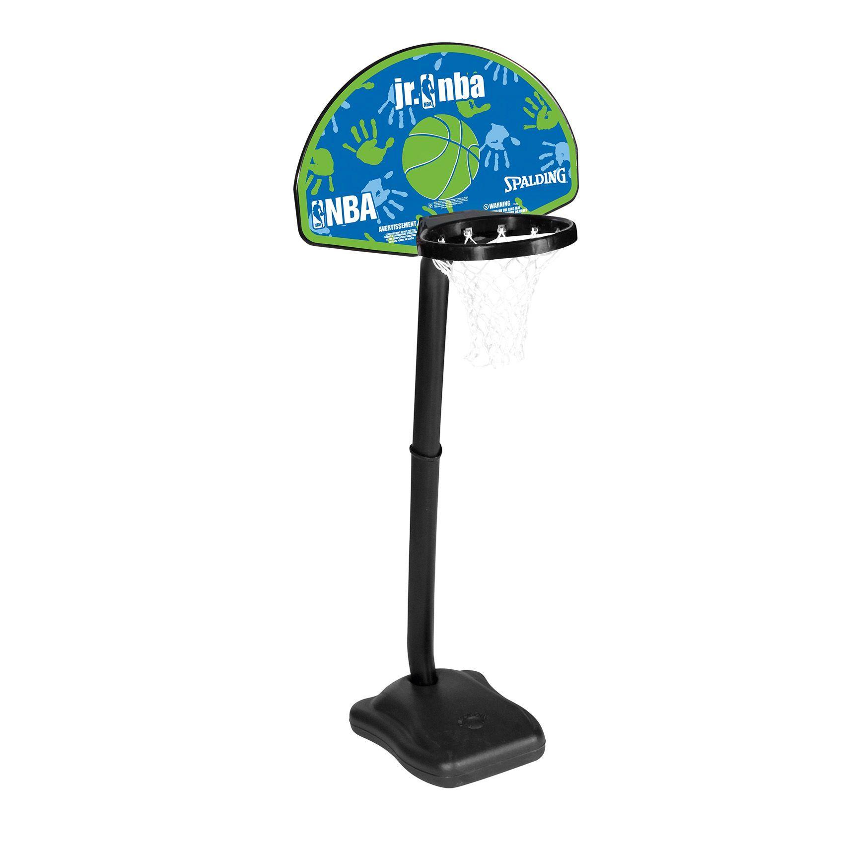 Canasta portable ideal para niños de hasta 6 años, incluida miniball, no requiere herramientas para el montaje www.basketspirit.com/Spalding/Canastas-aros-y-tableros-baloncesto