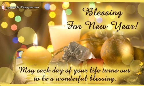 new years day blessing blessing for new year new year greeting cards 2013 123newyearcom