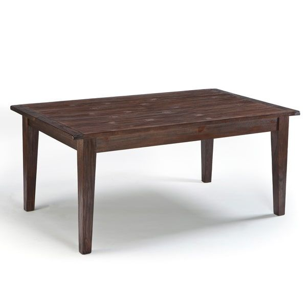Design Ashley Mestler Dark Brown Rectangular Dining Room Table Ridgley Square