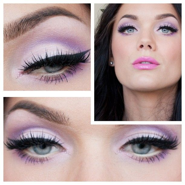 Soft pastel purple eyeshadow | Hair and makeup | Pinterest | Pink ...