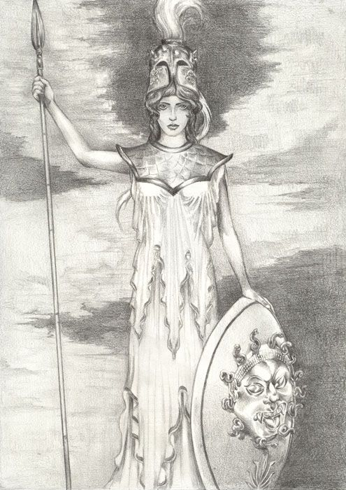 Goddess Knowledge and Wisdom - Athena - Ashtar Command - Spiritual ...