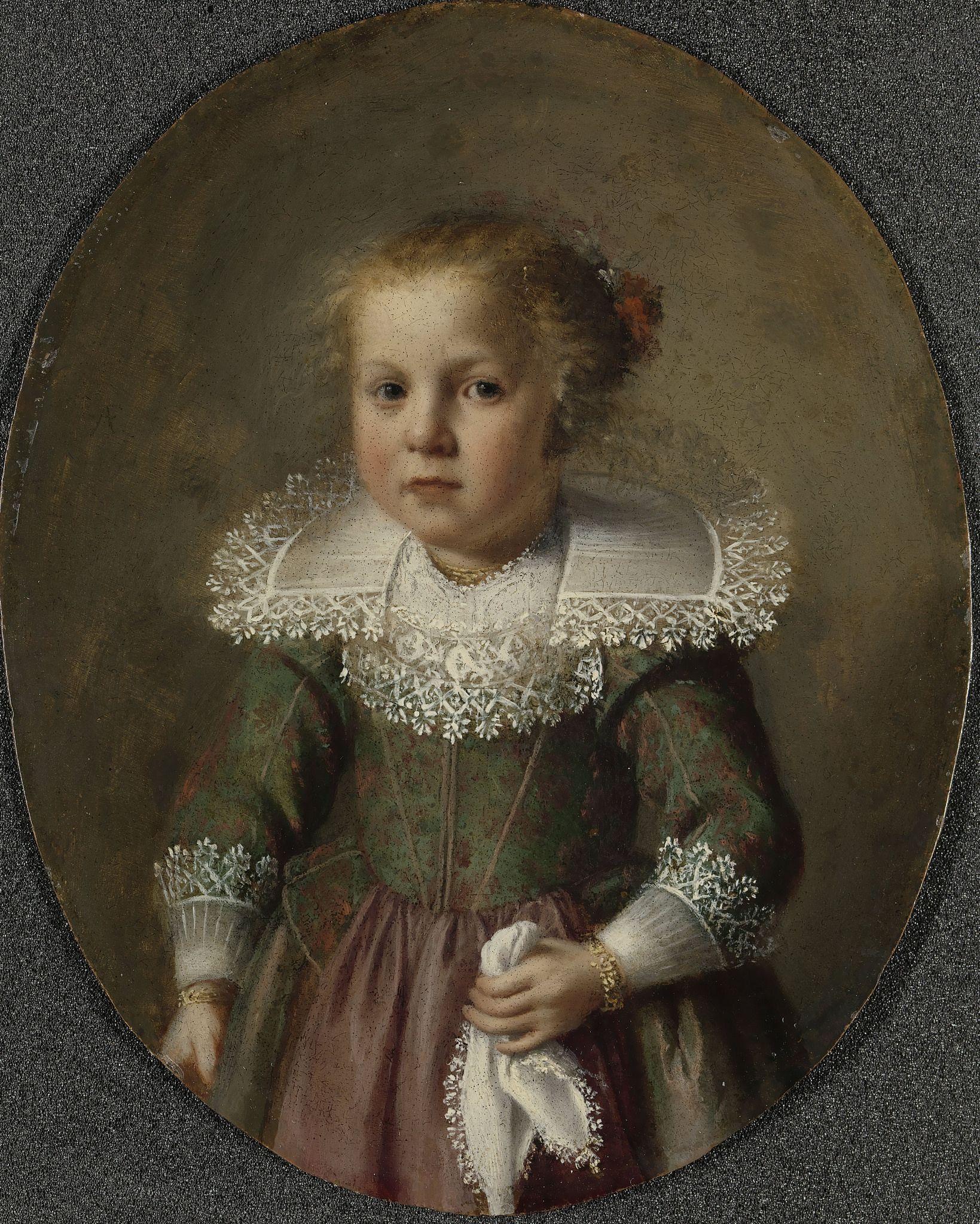 Anonymous - Portrait of Josina Cornelisdr van Esch, 1632