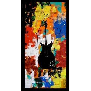 Abstract Guitar painting   Paintings, Home Decor, Make My Giftz, NA, Abstract Guitar