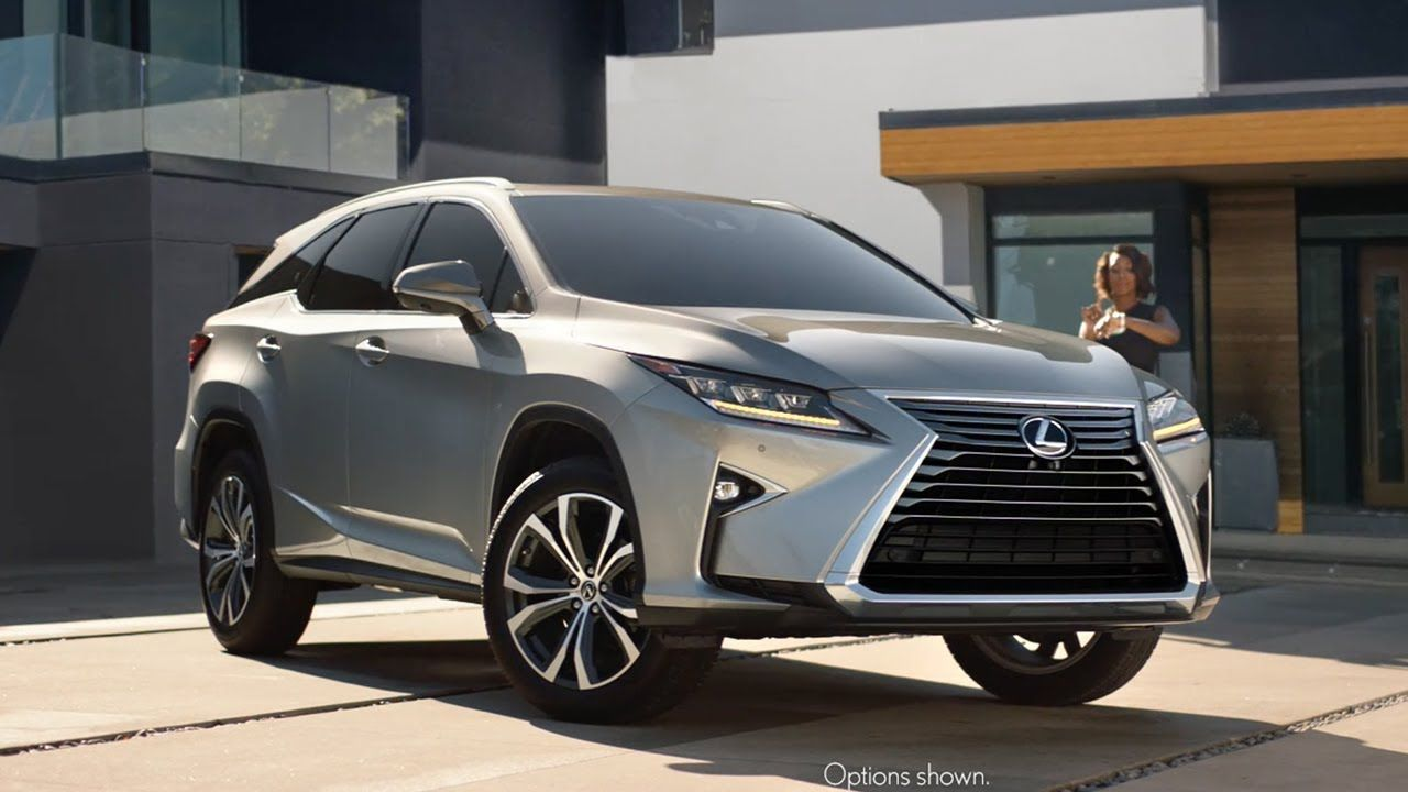 2018 Lexus Rx L Tv Commercial The World Is Your Oyster Watch How This Mom Unlock S Her Car With A Smartwatch That S The Lexus Dealer Lexus Cars Luxury Suv