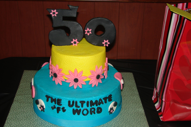 50th Birthday cake Cakes that I made Pinterest Birthday