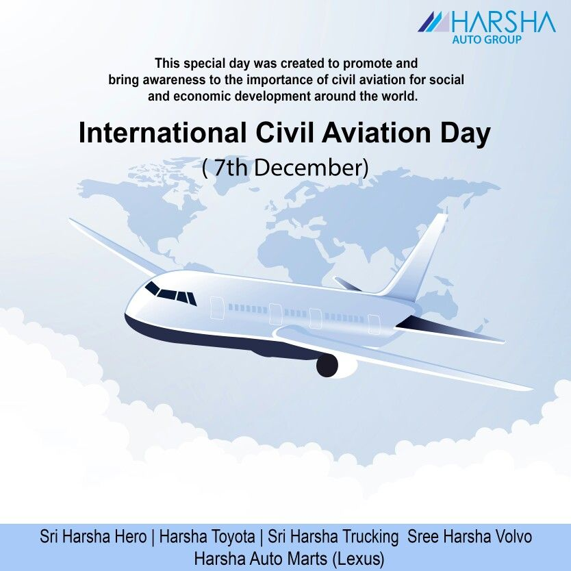 International Civil Aviation Day'' The day has been