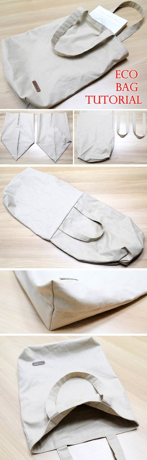 Photo of Canvas Eco-friendly Shopping Bag Tutorial