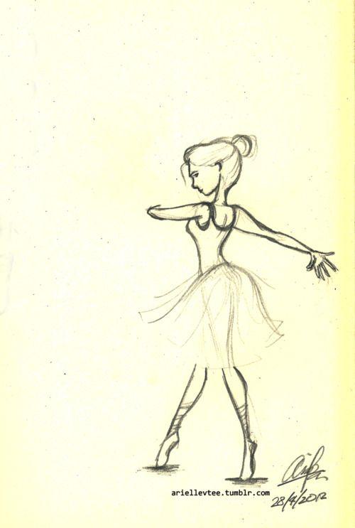 Ballet Drawing Tumblr Art Ballet Drawings Art Drawings