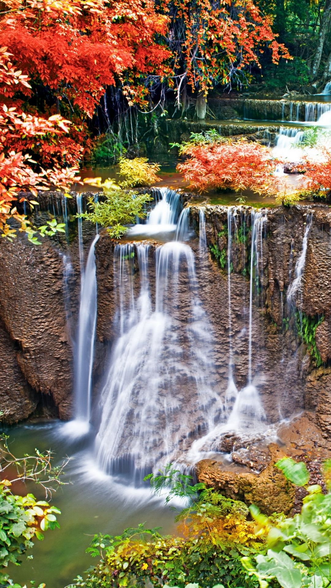 Smartphone Hd Wallpaper 46133747 Funprix Waterfall Wallpaper Scenery Wallpaper Nature Iphone Wallpaper
