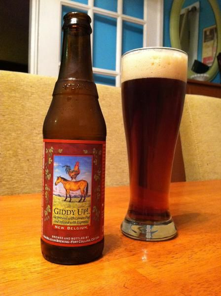 BrewChief com Review of Giddy Up! (New Belgium Brewing Co