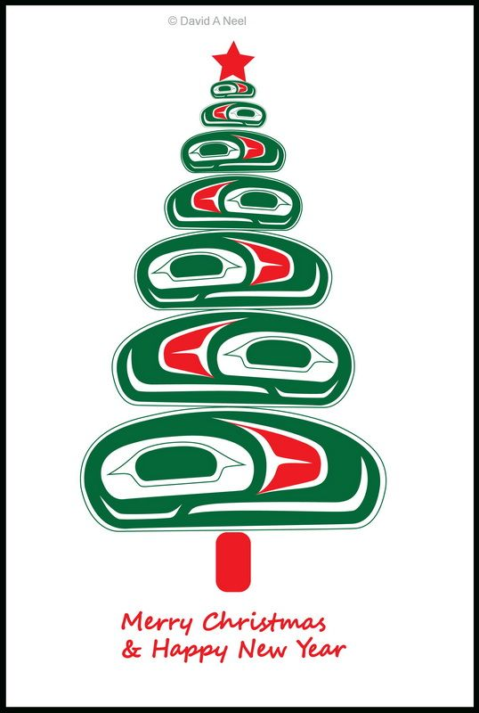 Merry Christmas And Happy Holidays Nativeamerican Firstnations