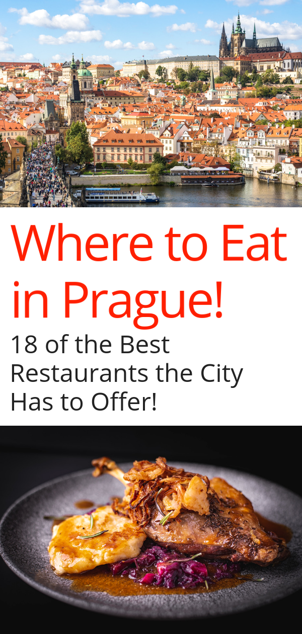 20 of the Best Restaurants in Prague - Guide to Prague Dining #czechfood
