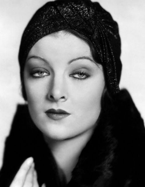 It's The Pictures That Got Small ~~ MYRNA LOY