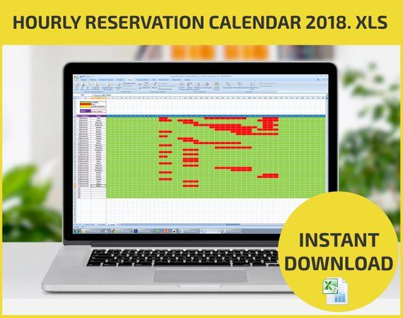 Appointment Scheduling and Hourly Reservation Booking Calendar 2018