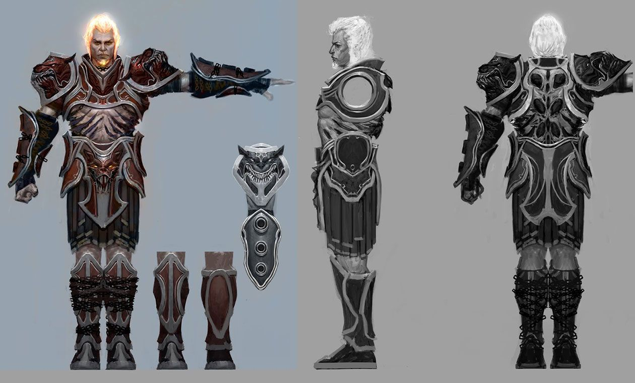 Ares Armor, God Mode - Pictures & Characters Art - God of