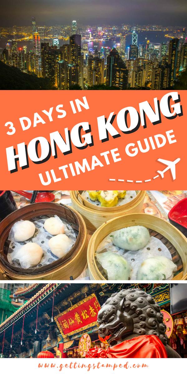 3 Days In Hong Kong Asia S Culture And Foodie Haven Hong Kong Itinerary China Travel Hong Kong