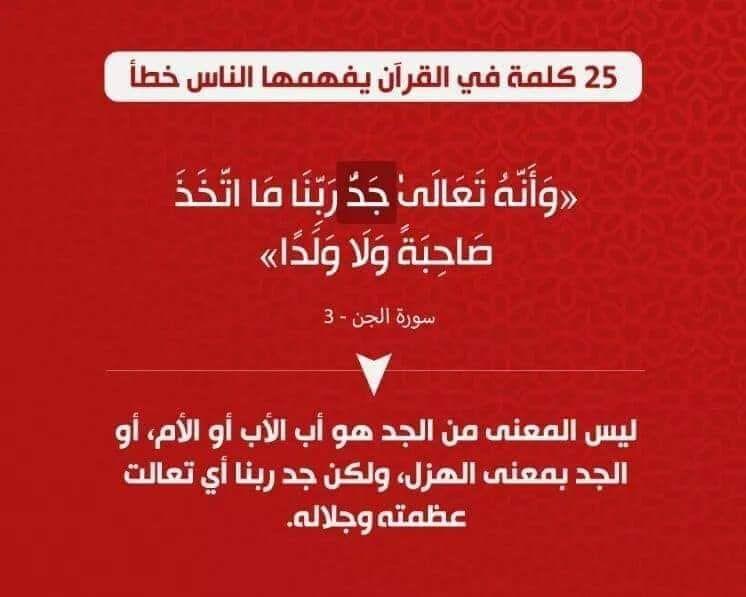 كلمات في القرآن الكريم يفهمها الناس خطأ In 2020 Quotes Arabic Quotes
