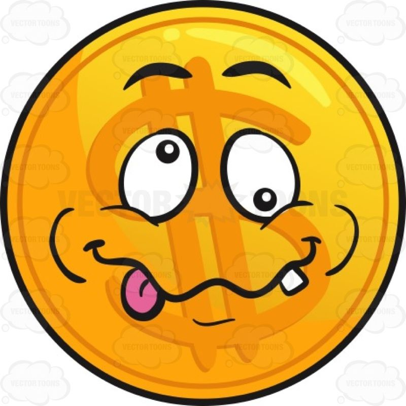 Crazy Golden Coin Emoji #brainsick #coin #coinage #crazy #currency ...