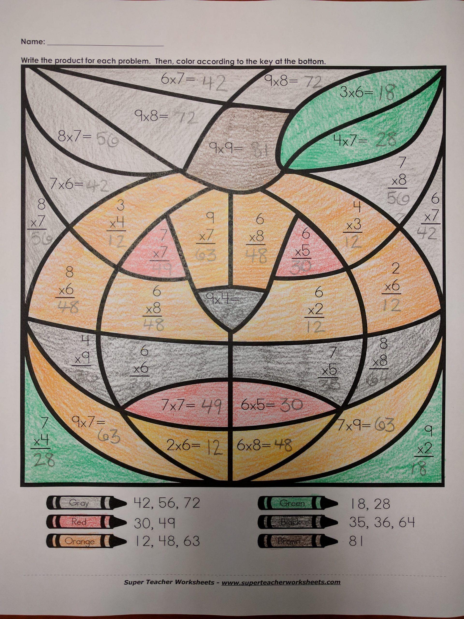Halloween Worksheets For Third Grade Halloween Worksheets