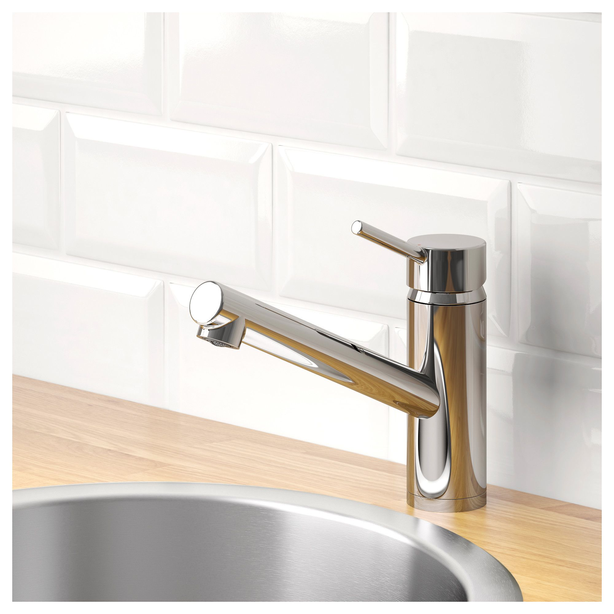 Yttran kitchen faucet chrome plated in products pinterest