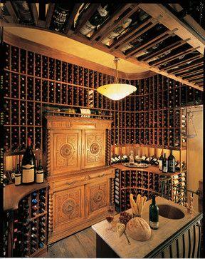 2nd Floor wine cellar - traditional - wine cellar - san diego - Vintage Cellars & 2nd Floor wine cellar - traditional - wine cellar - san diego ...