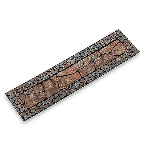 The Great Outdoor Design Of This Stair Tread Mimics Riverbed Pebbles And  Slate, Bringing An