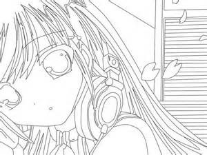 Anime Coloring Pages - Best Coloring Pages For Kids   225x300