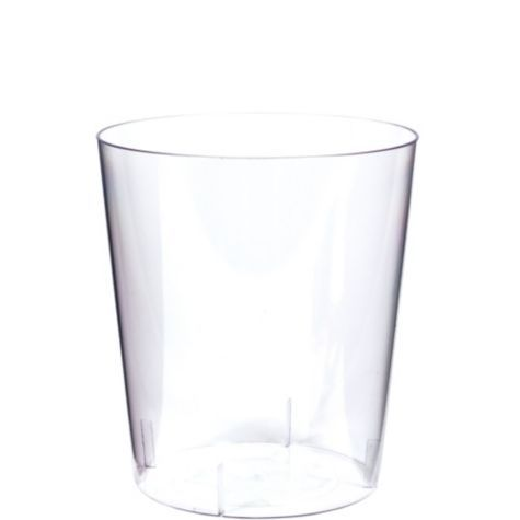 CLEAR Plastic Cylinder Container - Party City