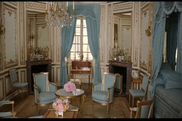 Setting for Sofia Coppola's film Marie Antoinette.  Starring Kirsten Dunst. Versailles,  Paris.