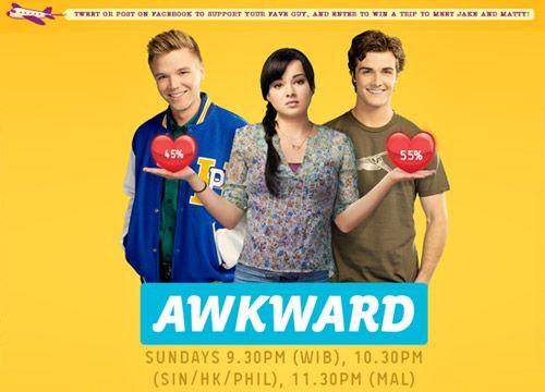 Awkward. #tv series #drama #comedy #awkward
