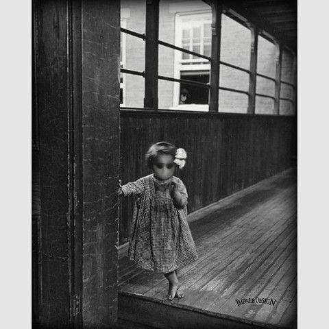 Hide Seek Thirteenth Floor Lewis Hine Photo Old Photos