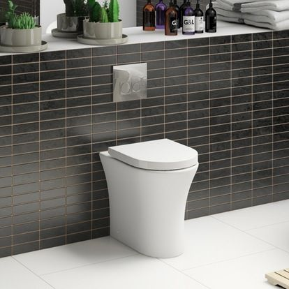 Superb Pin By Adedotun Adetula On Toilet Seat Back To Wall Gamerscity Chair Design For Home Gamerscityorg