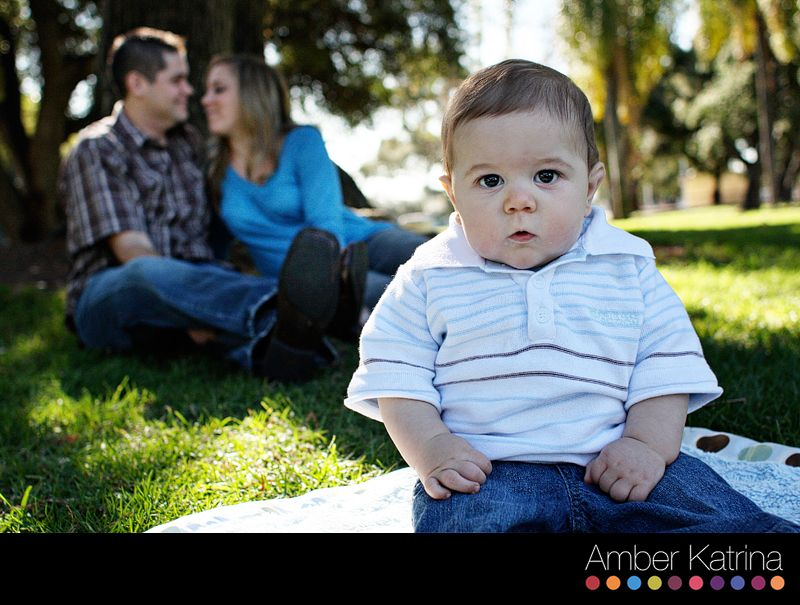 Angeles monrovia family photography 6 month old baby natural