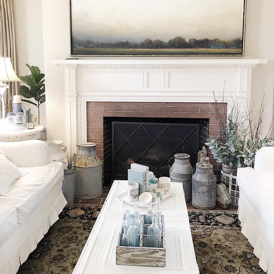 Pin by Little Yellow Cottage on ***Fireplaces