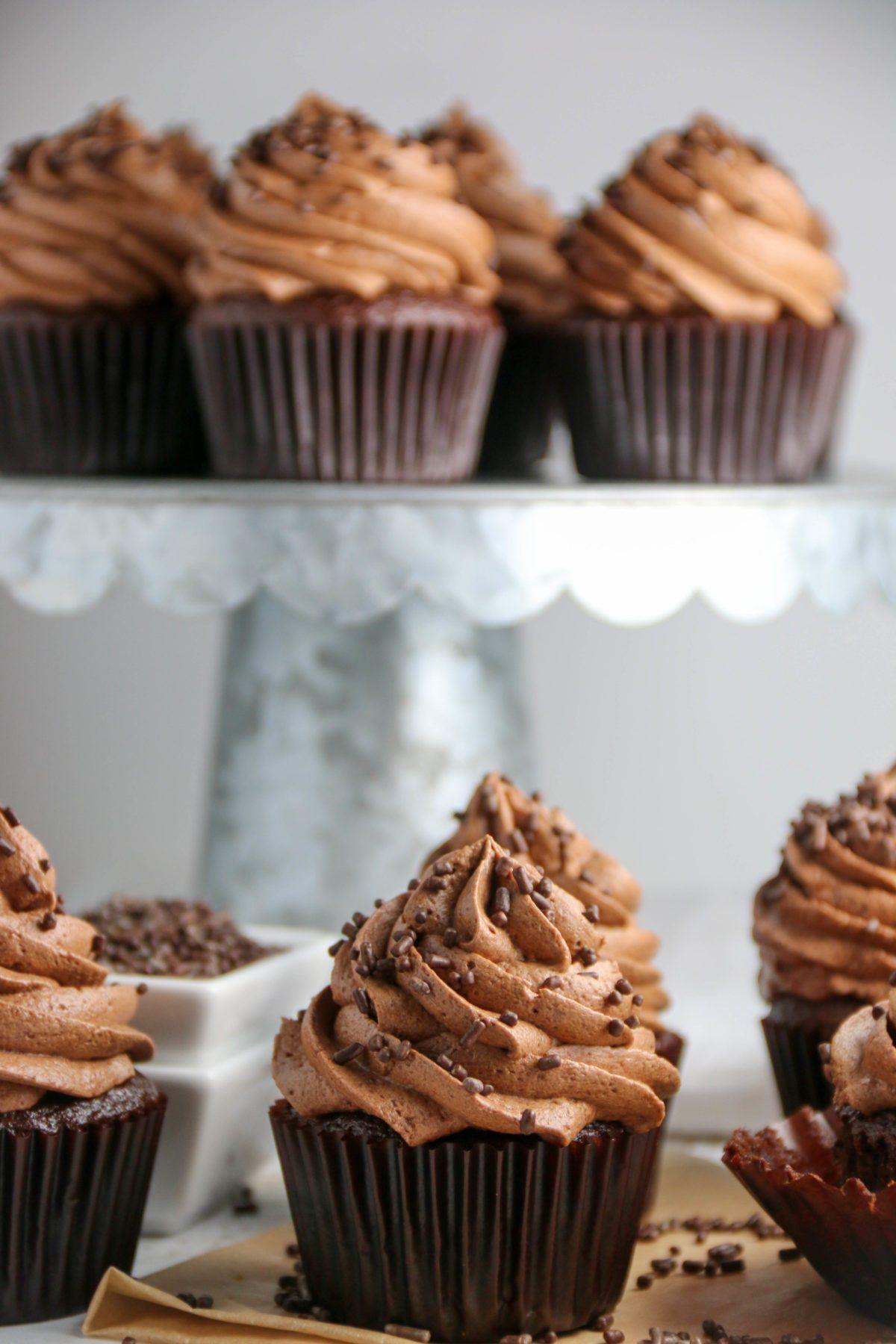 Chocolate Mocha Cupcakes Recipe Mocha Cupcakes Chocolate