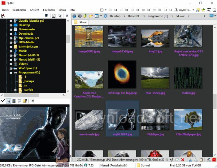 تحميل برنامج Q Dir مدير ملفات مجاني مع تقنية Quadro View In 2020 File Management System Floppy Disk Popup Menu