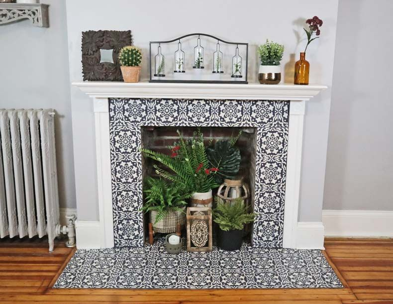 Photo of How to Paint a Everything You Need To Know About Stenciling A Fireplace DIY