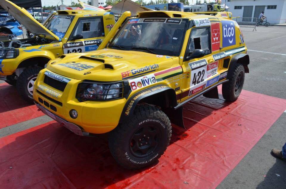 Eterovic Racing Team Rally Dakar 2014 422 Automoviles