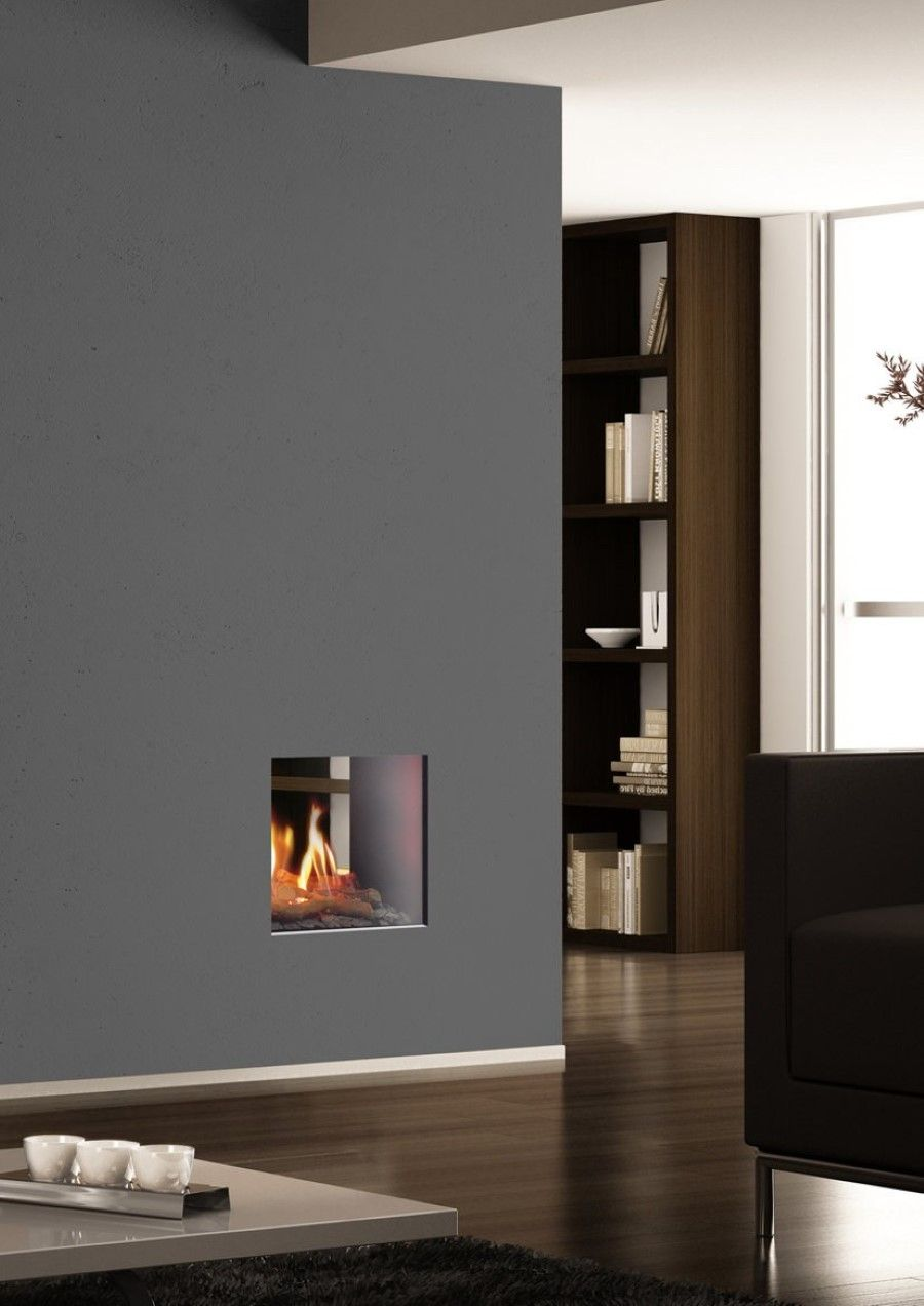 Small Gas Fireplace For Bedroom Large Grey Wall Room Divider With Small Double Sided Gas Fireplace