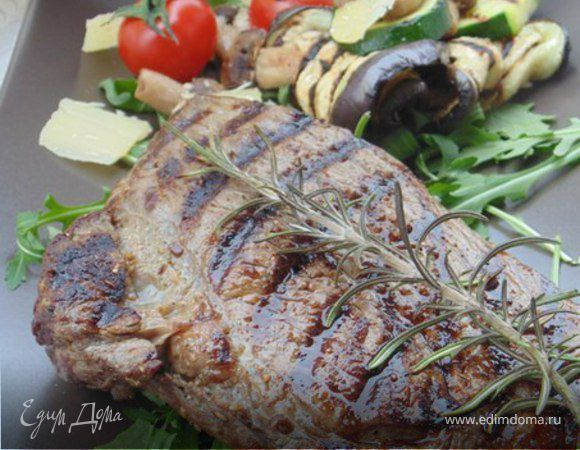 Как приготовить самый вкусный стейк на гриле?