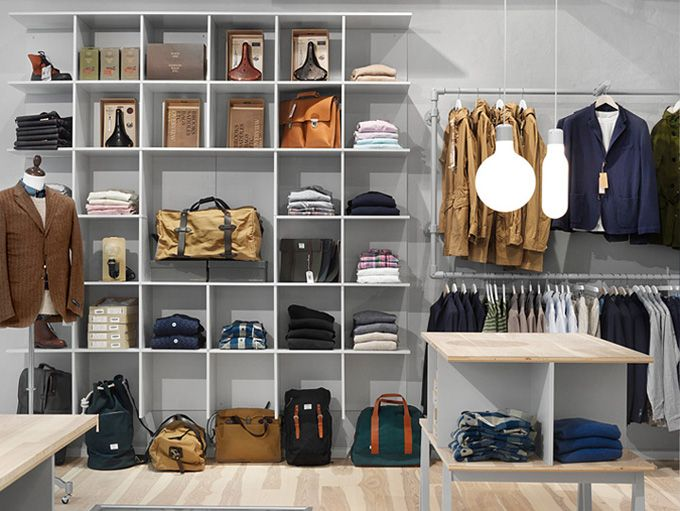 BEYUNIQUE: [Interior Design] Haberdash: Men's Clothing Boutique in ...