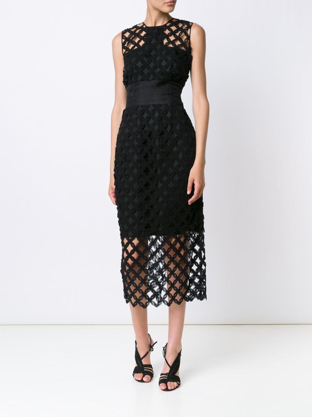 Lace short dress styles in nigeria  Sophie Theallet Vestido com detalhe de renda  Vestidos  Pinterest