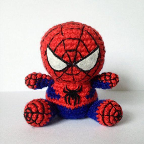 Amigurumi Spiderman Spider man amigurumi crochet crochet ... | 570x570
