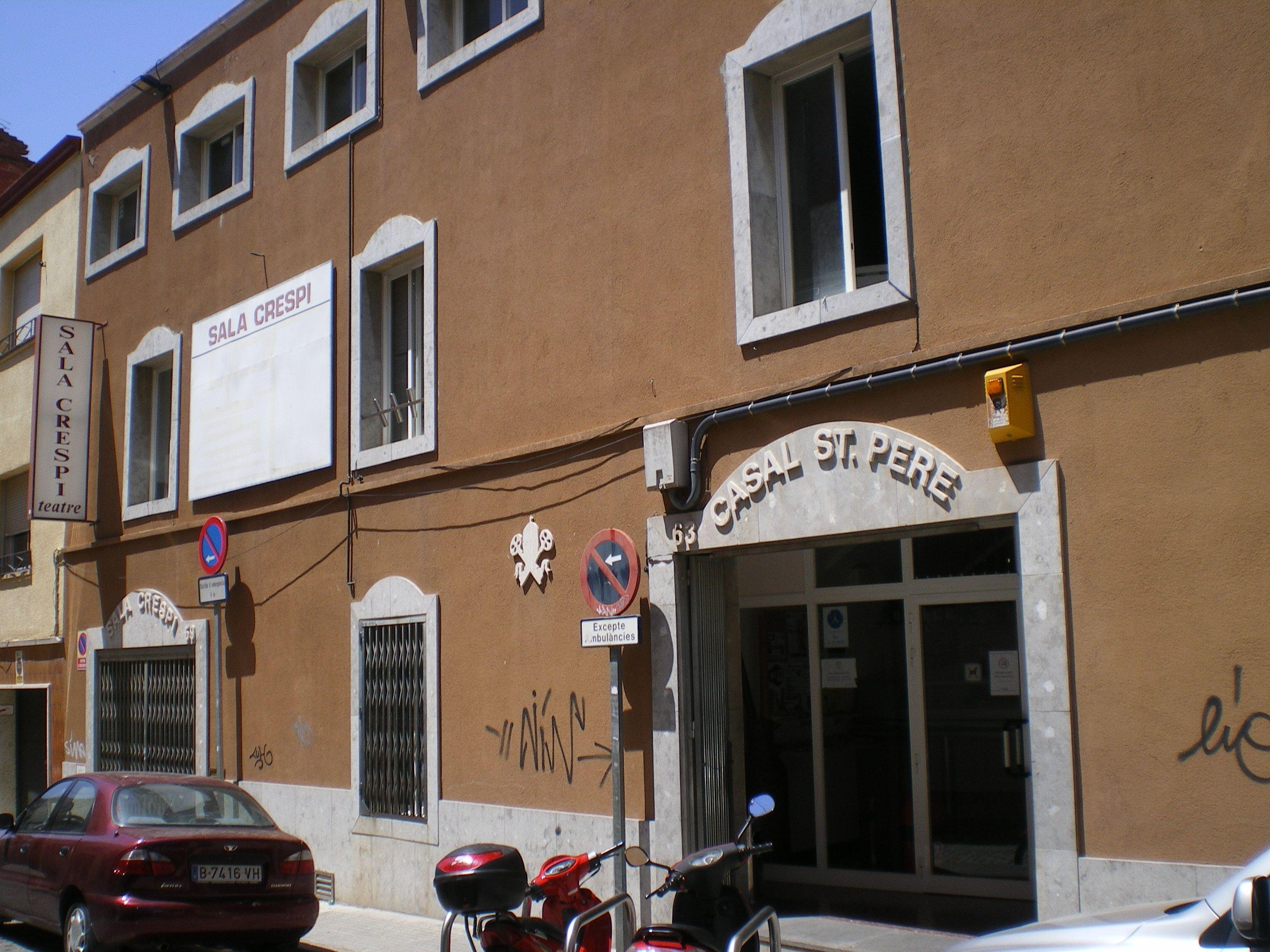 Casal de Sant Pere, Terrassa  http://www.casalstpere.com/